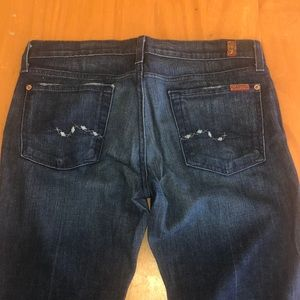7for all mankind. Bootcut size 28.